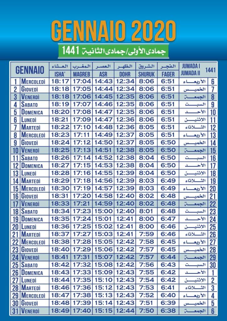 Preghiera Ramadan